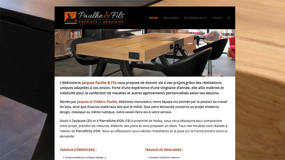 site-web-Paulhe-Ebeniste